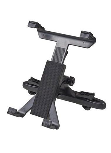 Platoon Universal Araç İçi Koltuk Arkası Tablet Tutucu Askısı 360° Siyah